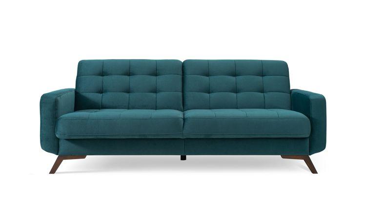 Zielona butelkowa sofa Fiord - Sweet Sit