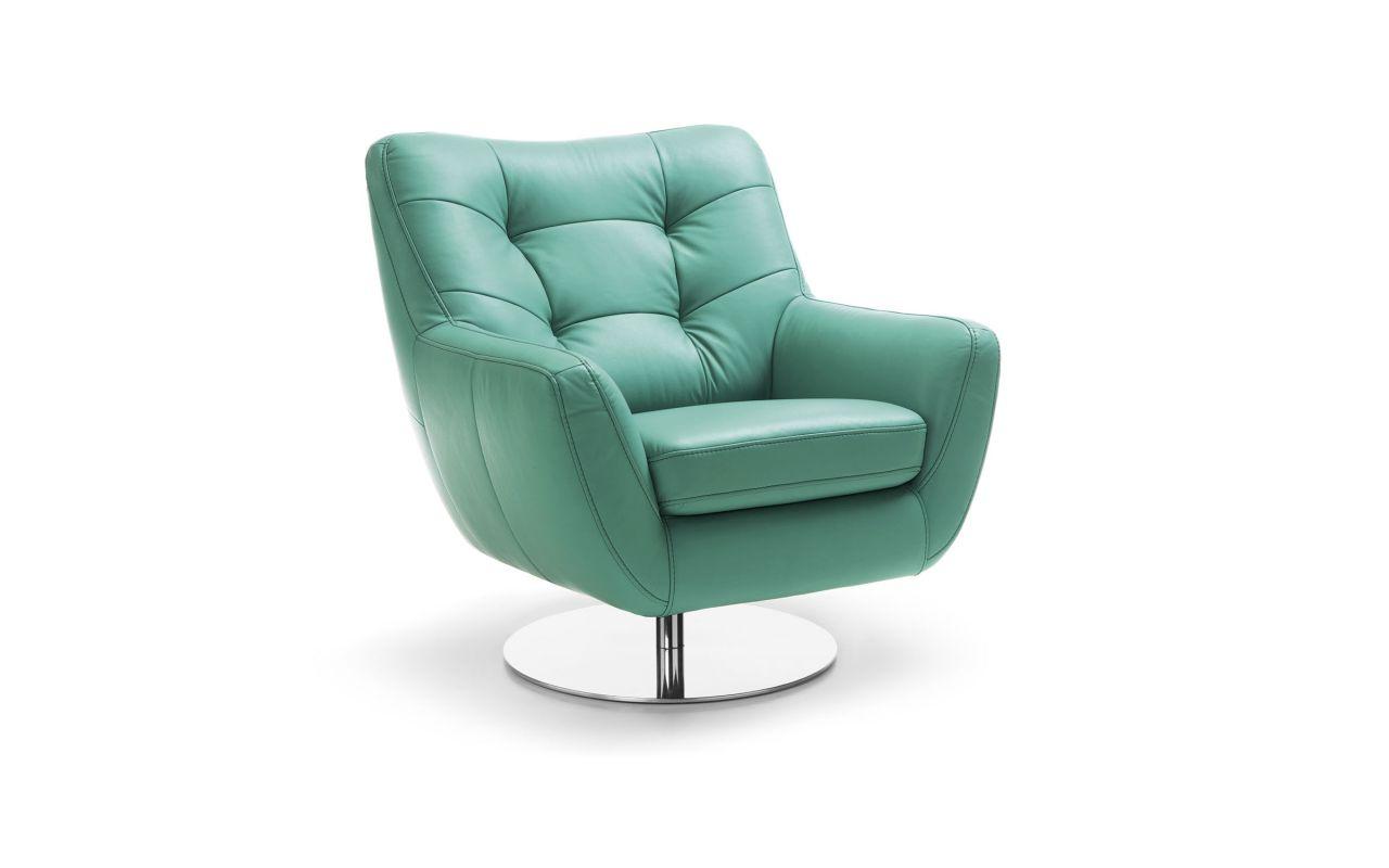 Masywnie Fotel obrotowy do salonu Boss | Gala Collezione LL22