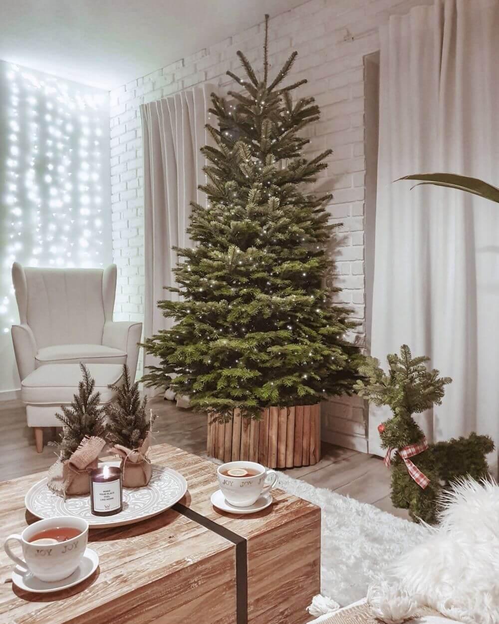 Świąteczna aranżacja Olivii Niklas z fotelem Fido Gala Collezione
