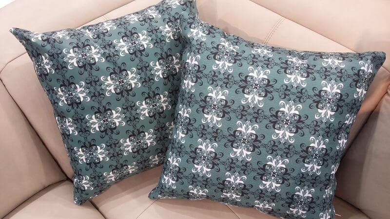 Dorożka - projekt tkaniny na poduszkę Klaudii Pietrzak