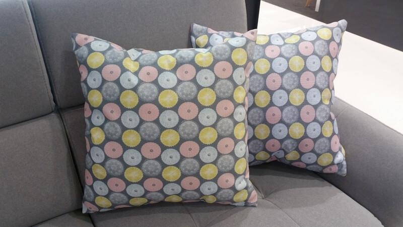 Pastelowy podmuch - projekt tkaniny na poduszkę Darii Krawczyk