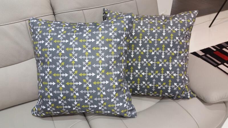 Polowanie na sny - projekt tkaniny na poduszkę Katarzyny Kosok