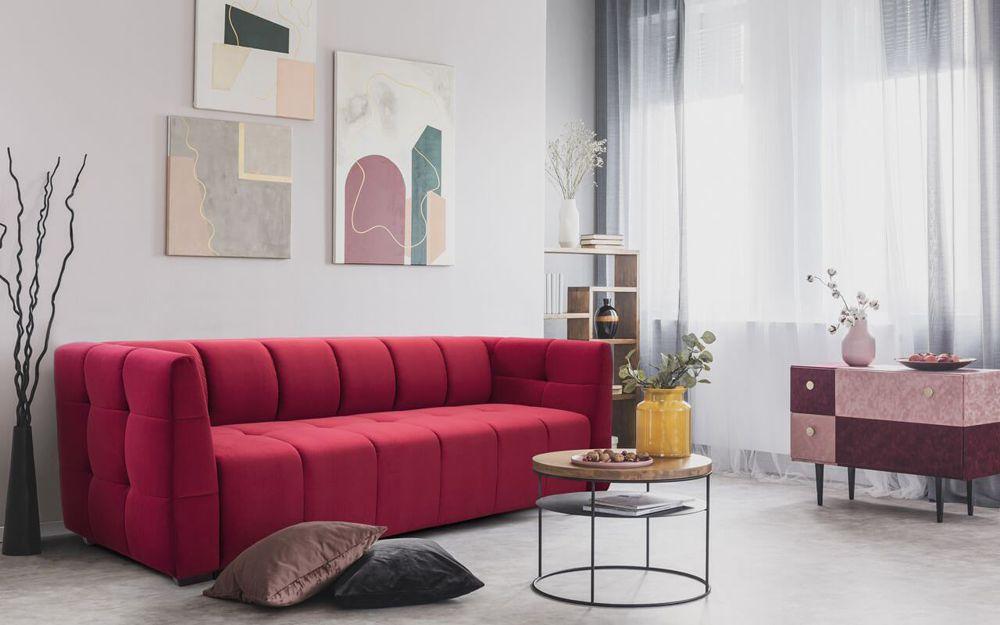 Sofa Gaja z funkcją spania do małego salonu | Sweet Sit
