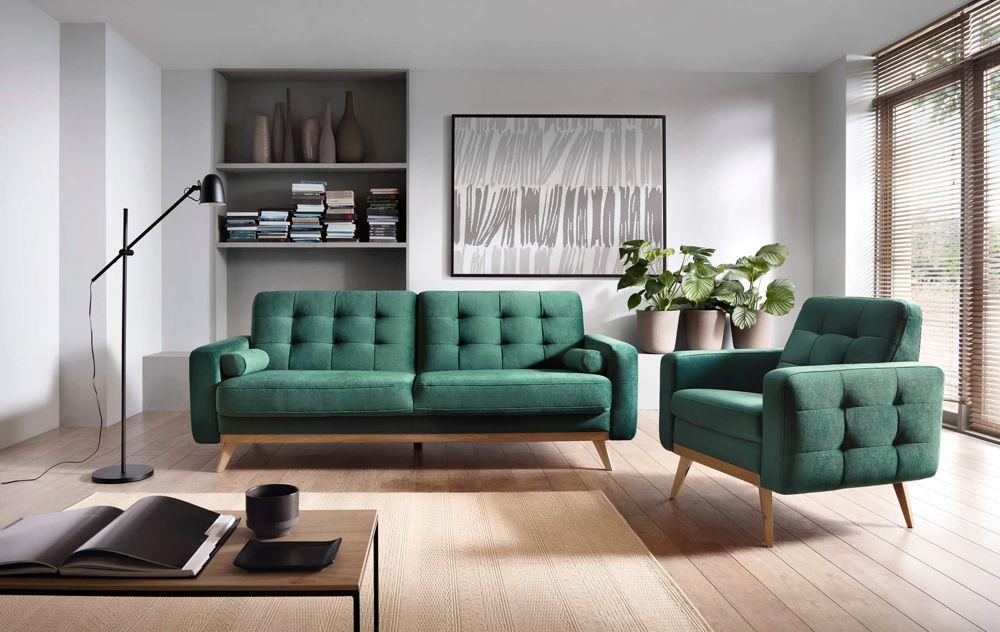 Zielona sofa Nova | Sweet Sit - jakość gwarantowana przez Gala Collezione