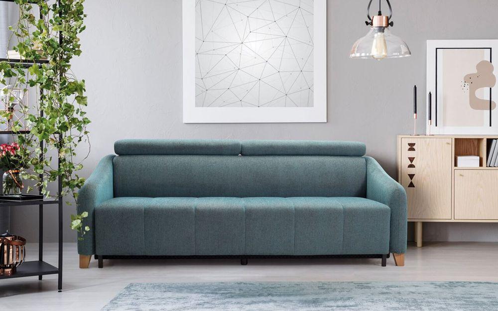 Sofa Saxo z funkcją spania do małego salonu | Sweet Sit