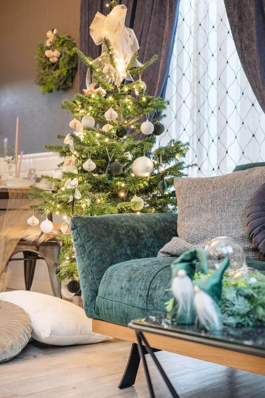 Aranżacja świąteczna - inspiracje Gala Collezione | Narożnik Nicea