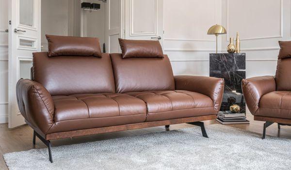 Sofa Nicea z opcjonalnymi zagłówkami | Gala Collezione