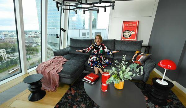 Kącik wypoczynkowy w stylu industrialnym | Alina Badora & Gala Collezione Inspiruje
