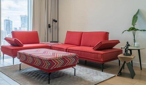 Prosta w kształcie sofa do wnętrz minimalistycznych   Gala Collezione