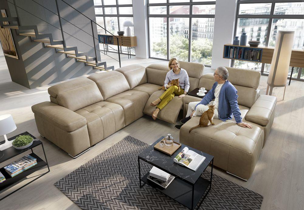 Funkcja relaksu w narożniku Domo | Gala Collezione