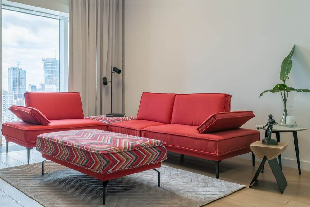 Milan - sofa do wnętrz minimalistycznych | Gala Collezione
