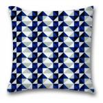 """Projekt nagrodzony w konkursie """"Zaprojektuj tkaninę na poduszkę w stylu Young i Glamour"""" organizowanym przez Gala Collezione"""