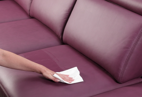 How properly clean natural leather furniture?