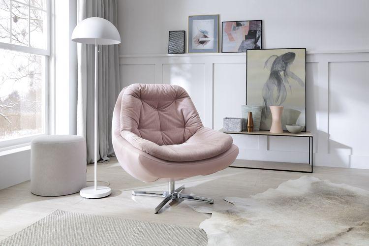 Propozycja aranżacji salonu z fotelem Dim