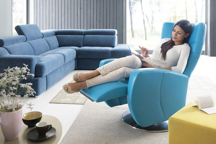 Rozkładany fotel do czytania Inari