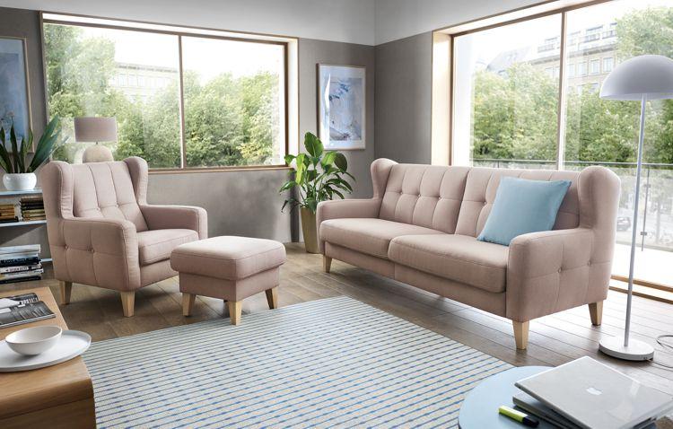 Fotel i wygodna sofa Arno marki Sweet Sit