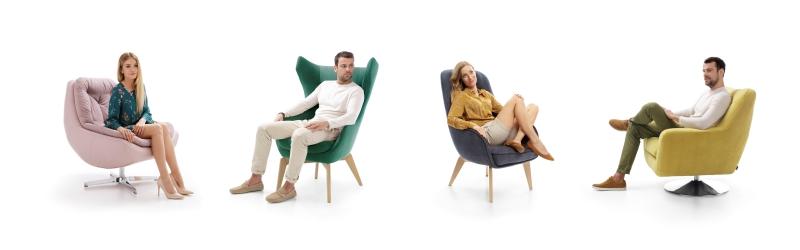 Fotele wypoczynkowe Gala Collezione