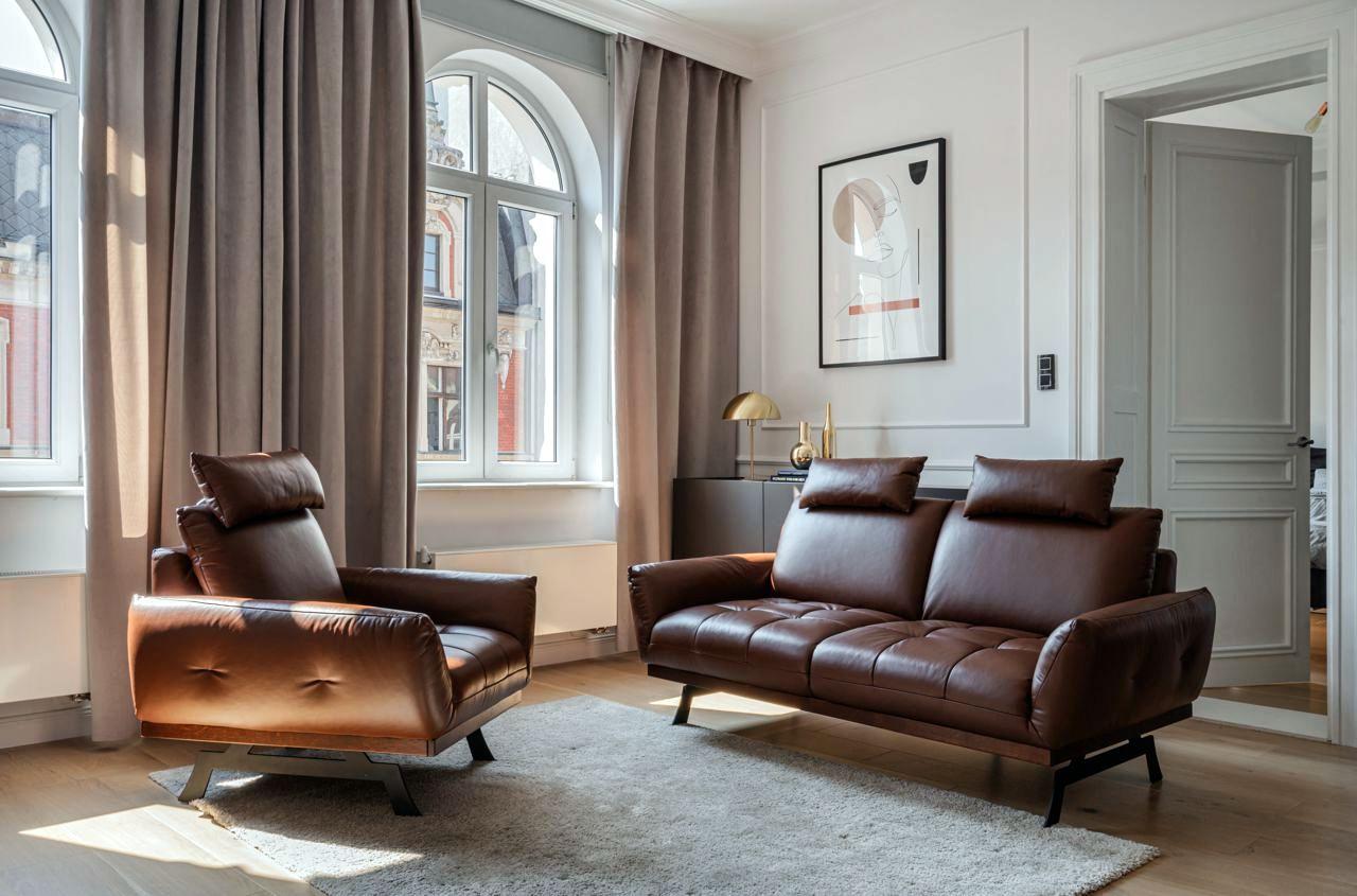 Zestaw wypoczynkowy Nicea w salonie w stylu francuskim