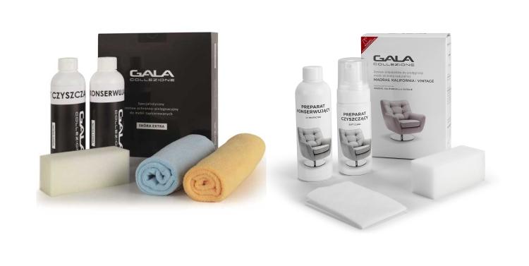 Preparaty do czyszczenia mebli ze skóry Gala Collezione