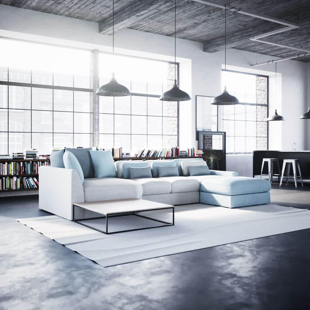 Gala Collezione - styl industrialny we wnętrzach