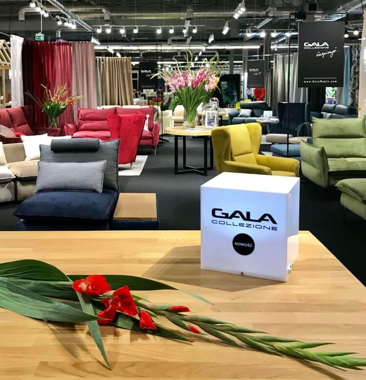 Stoisko Gala Collezione na targach Warsaw Home 2019