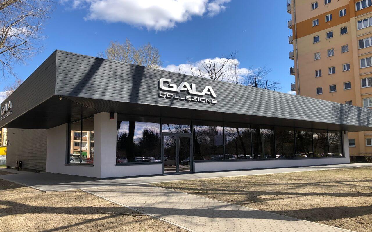 Przestrzeń Inspiracji Gala Collezione - Salon Firmowy WARSZAWA
