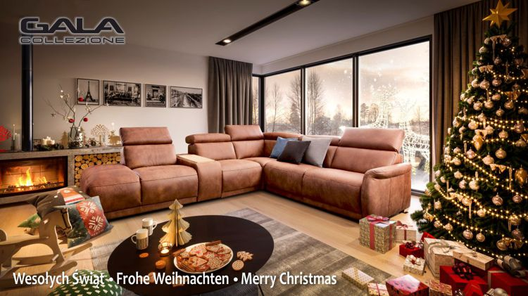 Wesołych świąt i szczęśliwego nowego roku życzy Gala Collezione