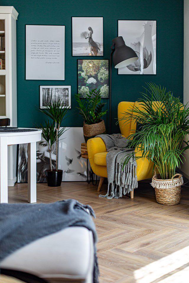Fotel Forli na zdjęciu z realizacji wnętrza autorstwa Sandry Białkowskiej