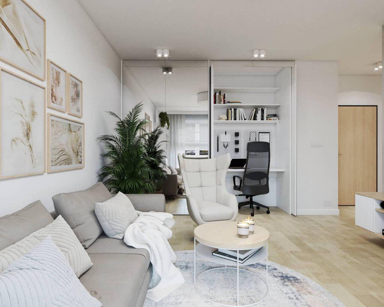 Fotel Neo na wizualizacji autorstwa biura projektowego Niebanalne Wnętrze | Inspiracje Gala Collezione