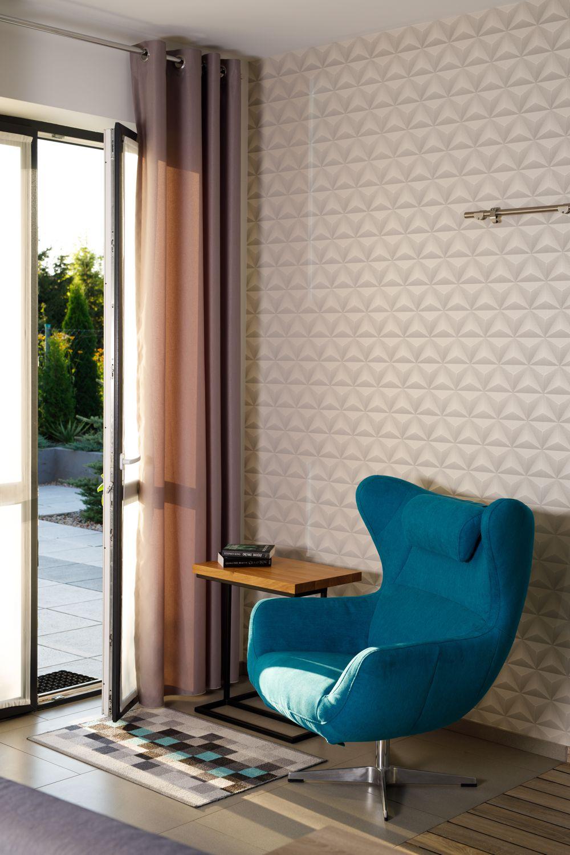 Fotel Presto na zdjęciu z realizacji projektu Adama Kurlendy