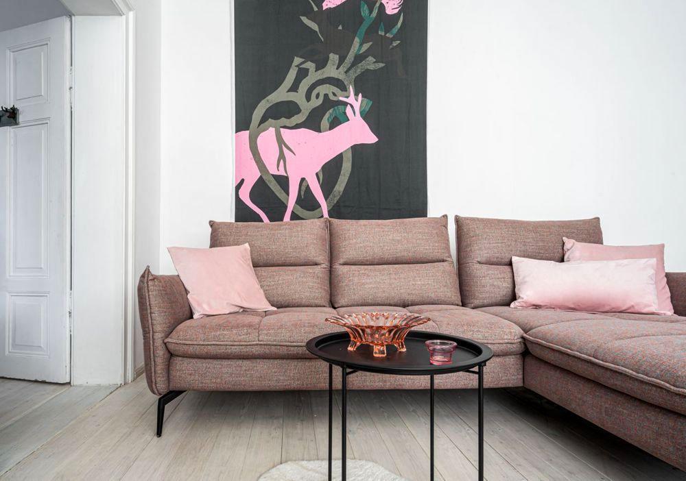 Narożnik Axel w minimalistycznym wnętrzu | Gala Collezione