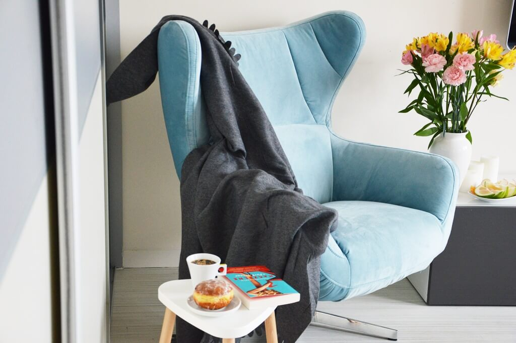 Fotel Presto na zdjęciu wnętrza domu blogerki MamaLoliPoli