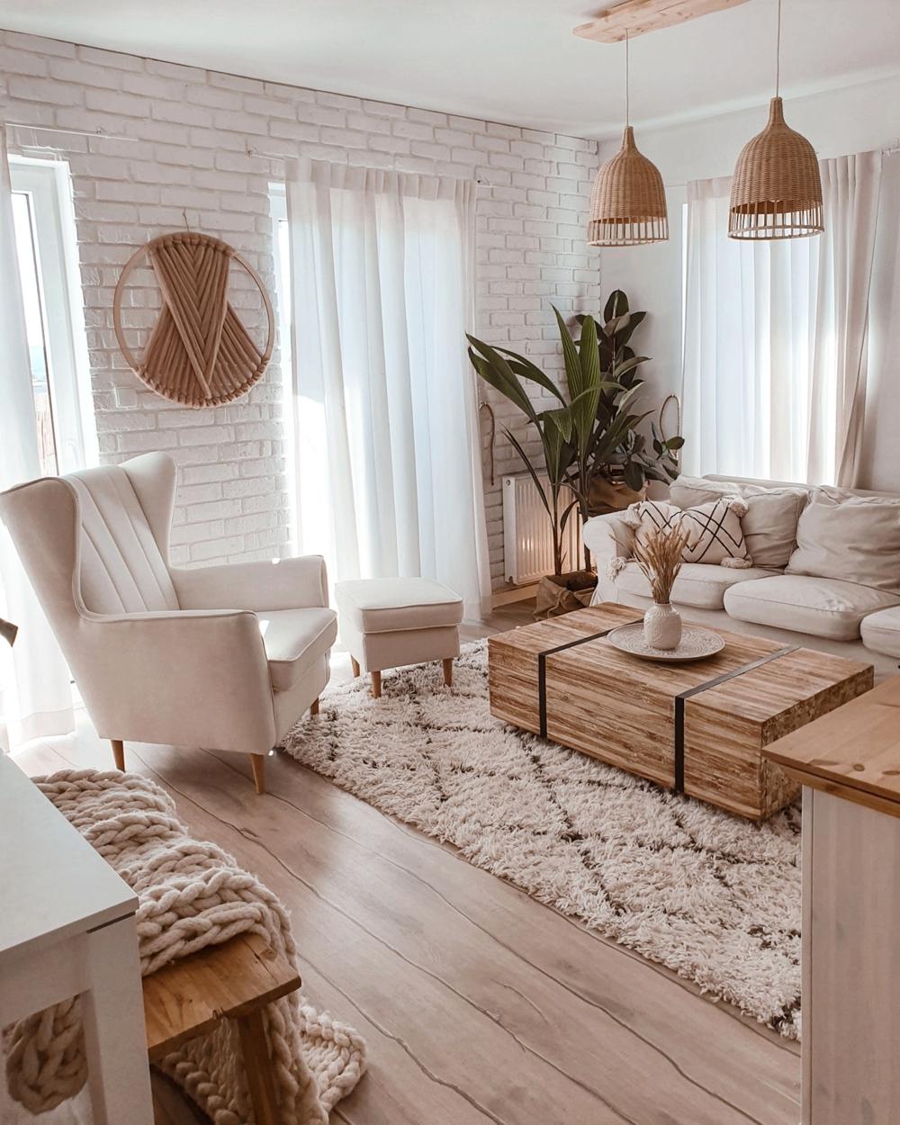 Fotel Fido w domu influencerki Oliwii Niklas Olive Home
