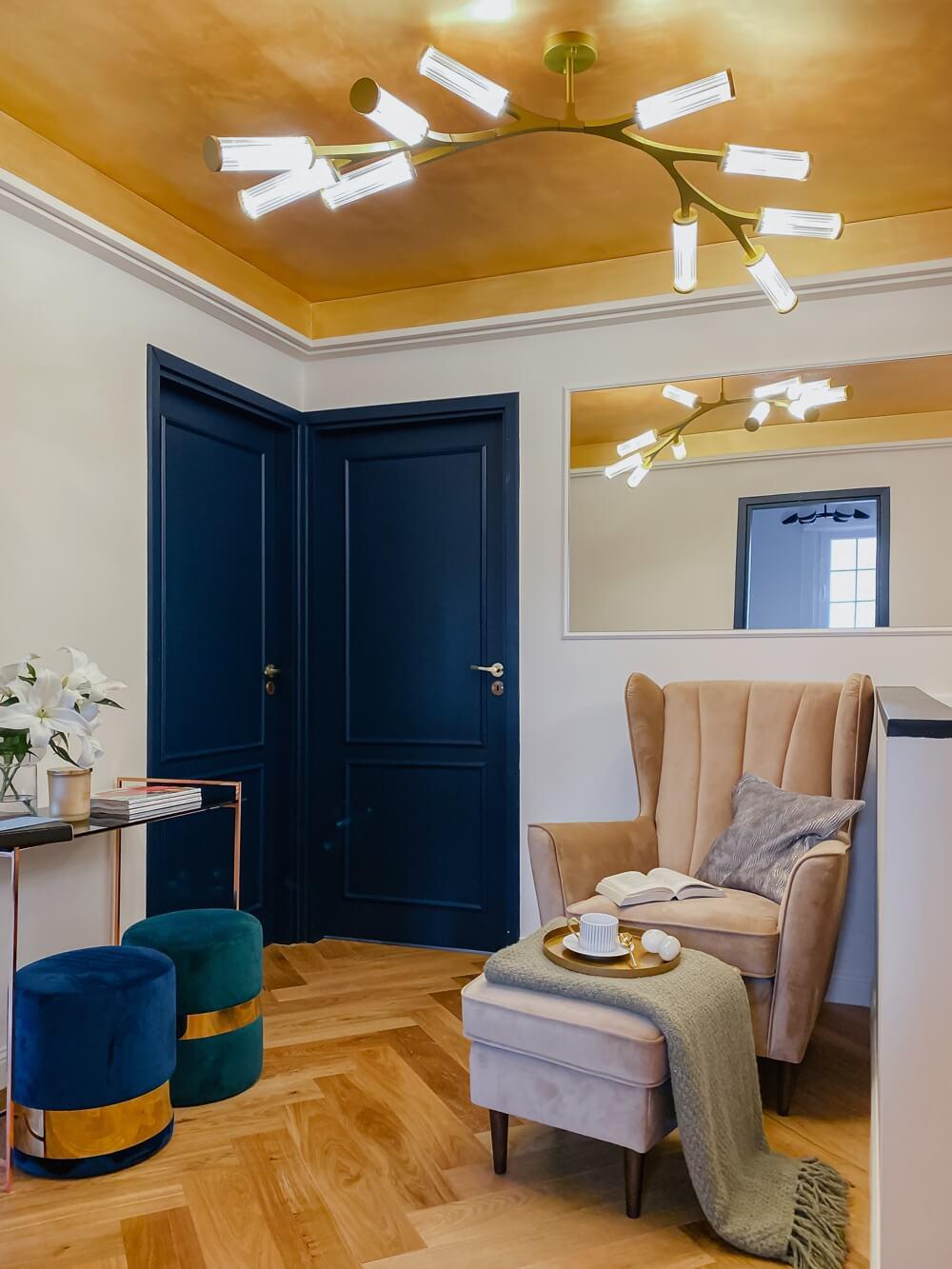 Fotel Fido Gala Collezione na zdjęciu wnętrza domu blogerki Uli Michalak