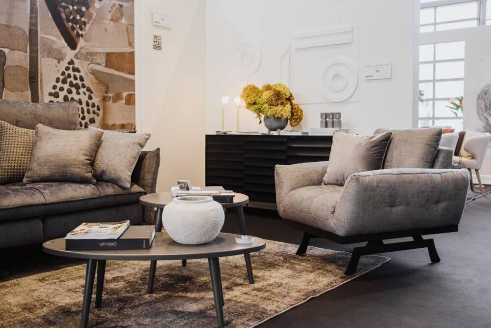 Fotel Nicea na zdjęciu aranżacji przygotowanej przez Ulę Michalak
