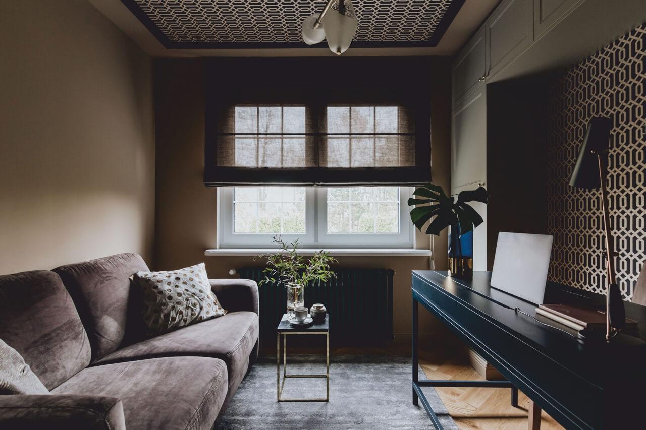 Sofa Sora na zdjęciu wnętrza domu blogerki Uli Michalak
