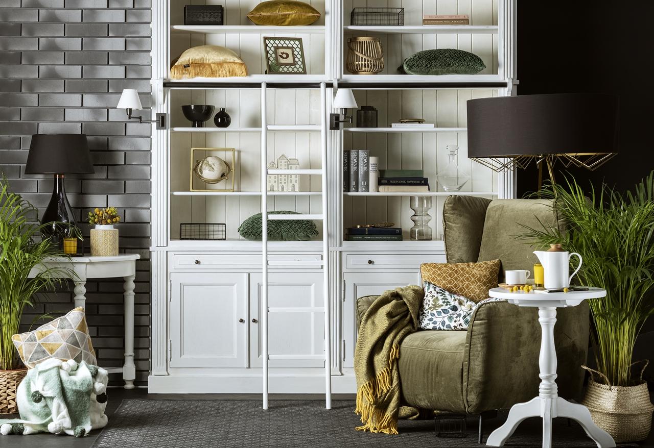 Fotel Lorien we wnętrzu stylizowanym przez Zoyka Home