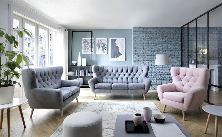 Jak urządzić duży salon - kilka propozycji od Gala Collezione