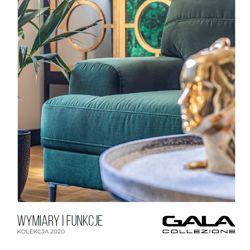 Zeszyt techniczny z wymiarami mebli Gala Collezione - kolekcja 2020
