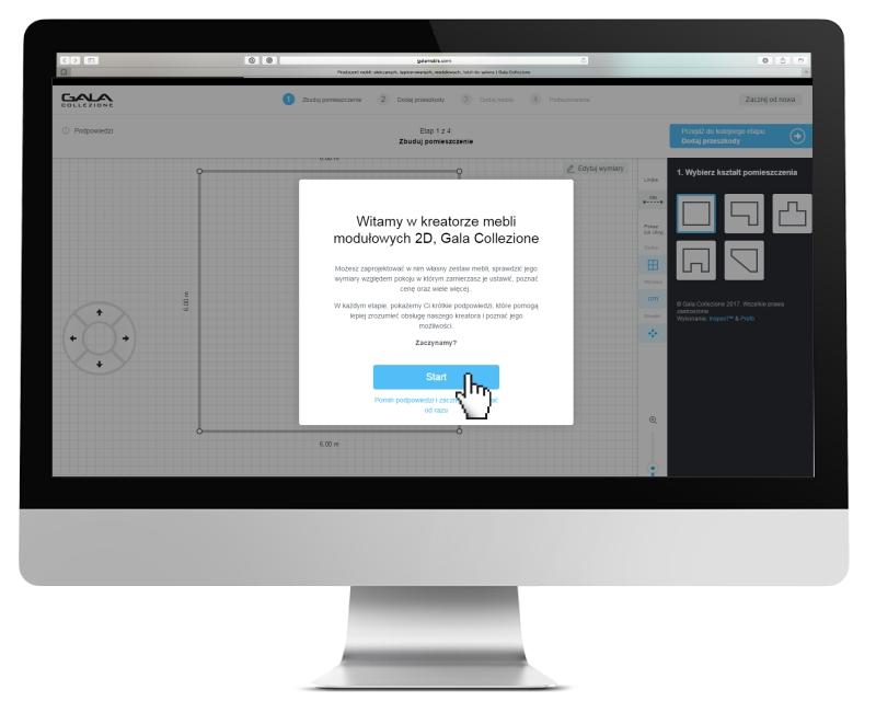 Zaprojektuj online swoją wymarzoną sofę w kreatorze 2D Gala Collezione