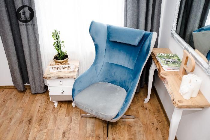 Fotel Zing marki Gala Collezione na blogu www.ladnachata.pl