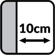 Minimalna odległość od ściany, w jakiej musi być ustawiony mebel z funkcją relaksu