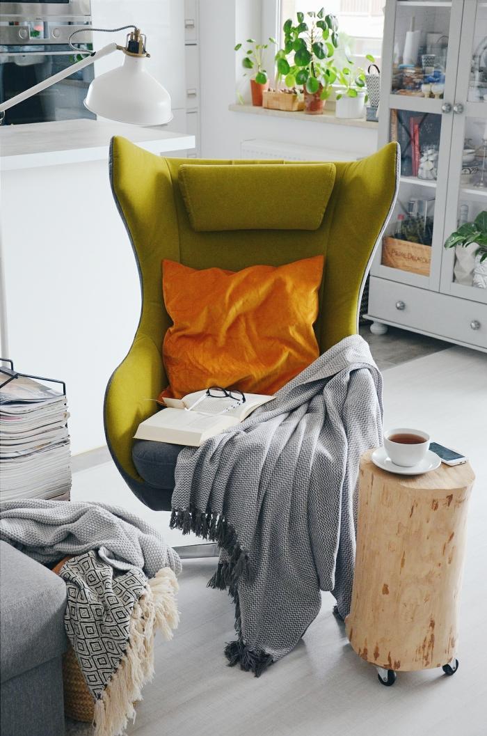 Aranżacja z fotelem Zing marki Gala Collezione na mylittlehomemypassion.pl