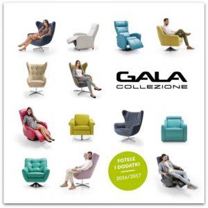 Katalog foteli i dodatków Gala Collezione - kolekcja 2016 / 2017