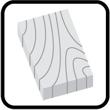 Ozdobne elementy drewniane - półki, blaty
