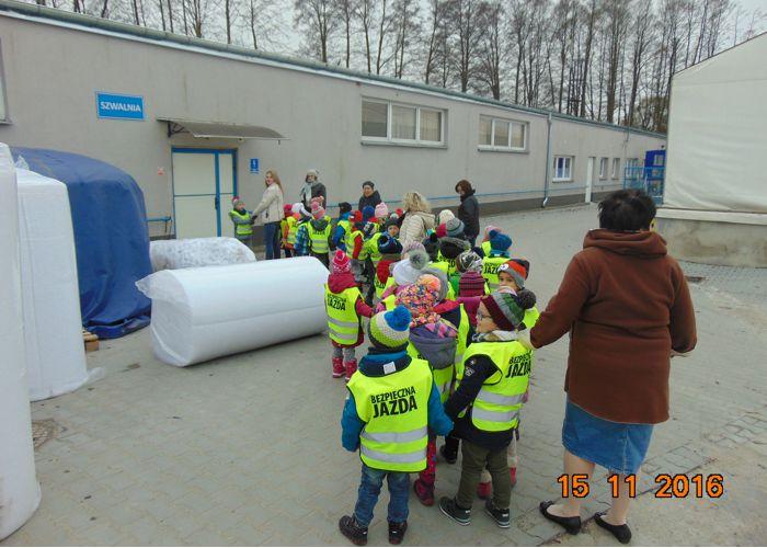 wizyta przedszkolaków w fabryce mebli Gala Collezione