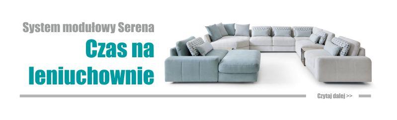 Leniuchuj przyjemnie na sofie Serena marki Gala Collezione