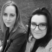 Zdjęcie Aleksandra Smolik i Paulina Wiatrowska, architektki wnętrz