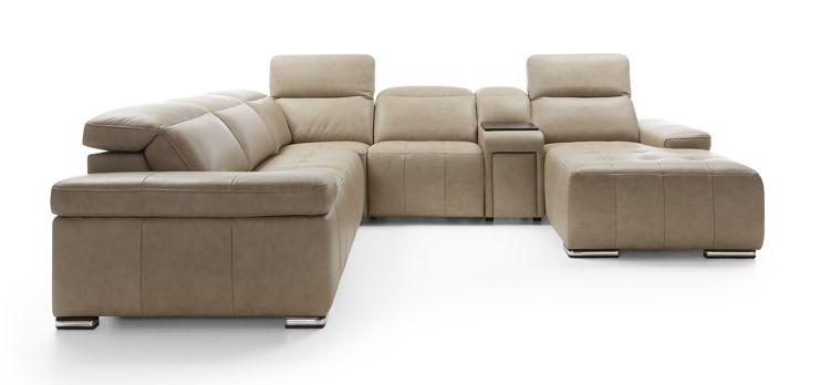 Sofa Domo z ruchomymi zagłówkami