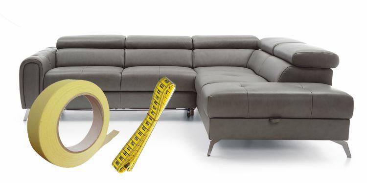 Sprawdź, czy sofa zmieści się w Twoim salonie